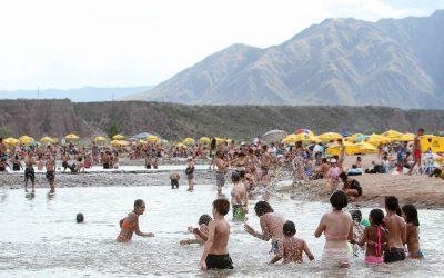 Luján Playa, Bajada al Río