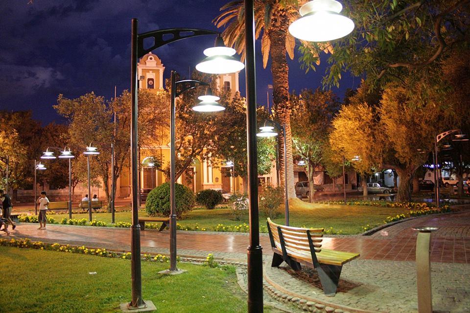 Plaza General San Martín – Casco histórico de Luján de Cuyo