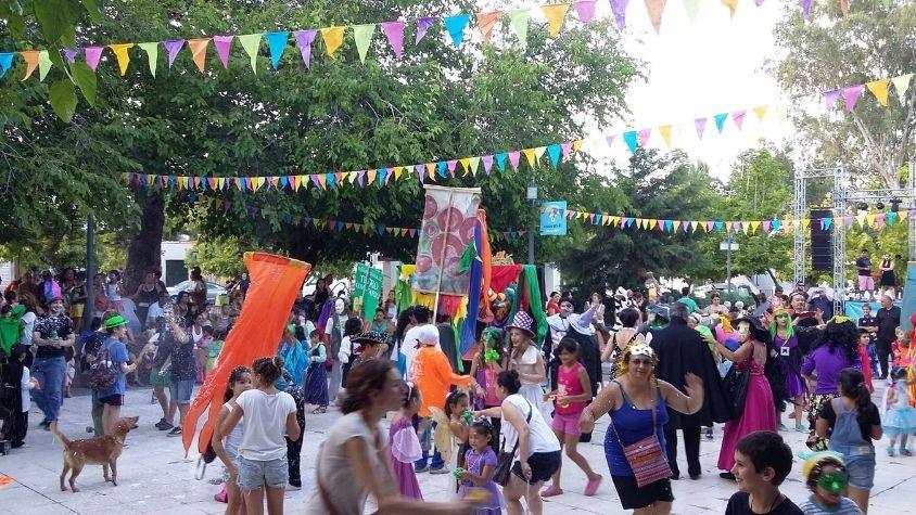 Carnaval de Chacras de Coria Retrera de Chacras