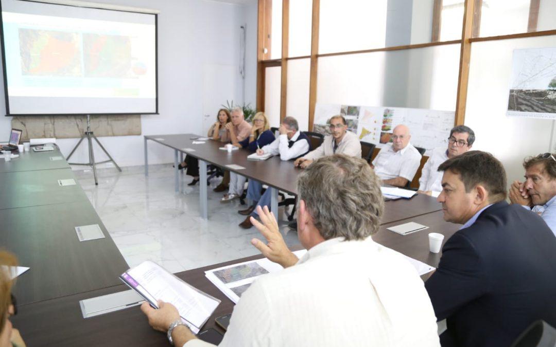 Se presentó el Plan de Desarrollo para el Pedemonte Lujanino