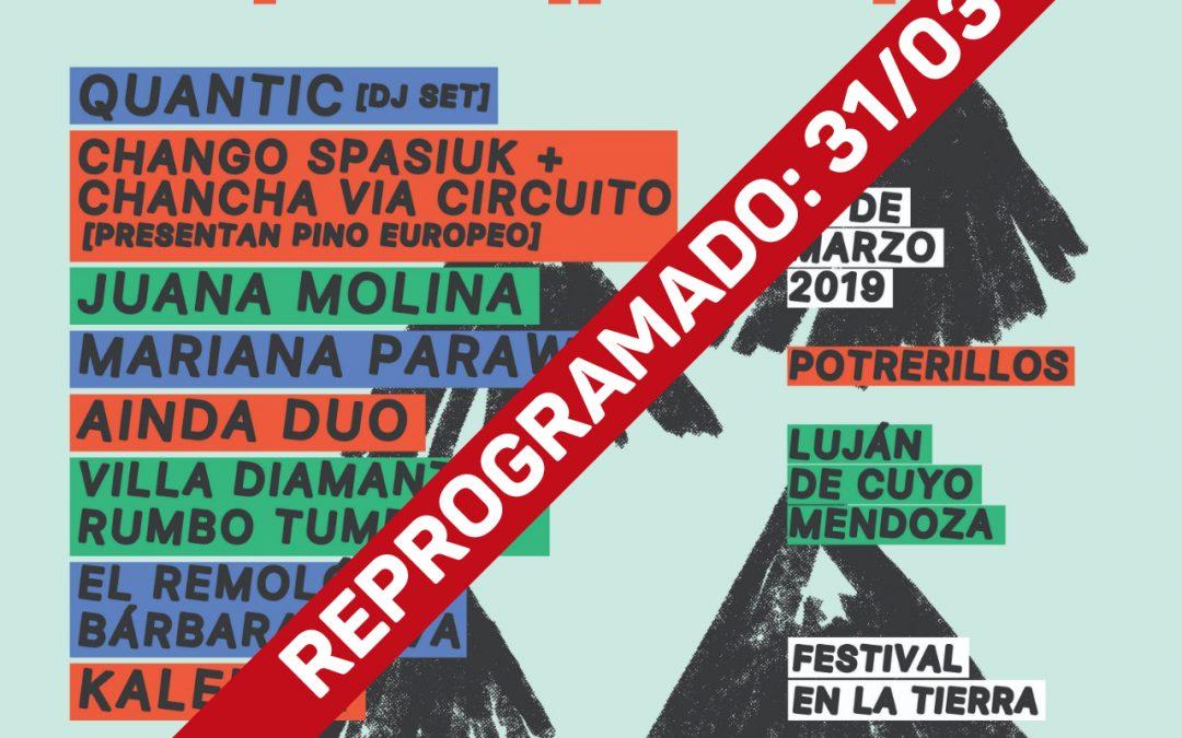 """Se reprogramó el """"Festival Pura"""" en Luján de Cuyo"""