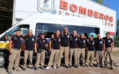 Los Bomberos Voluntarios de Luján de Cuyo se capacitarán en Francia