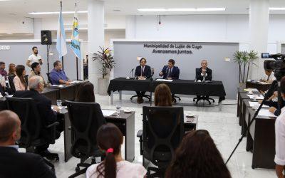 De Marchi realizó la apertura de Sesiones Ordinarias del HCD de Luján de Cuyo