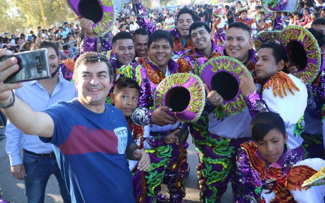 Espectacular edición de los Carnavales de Ugarteche