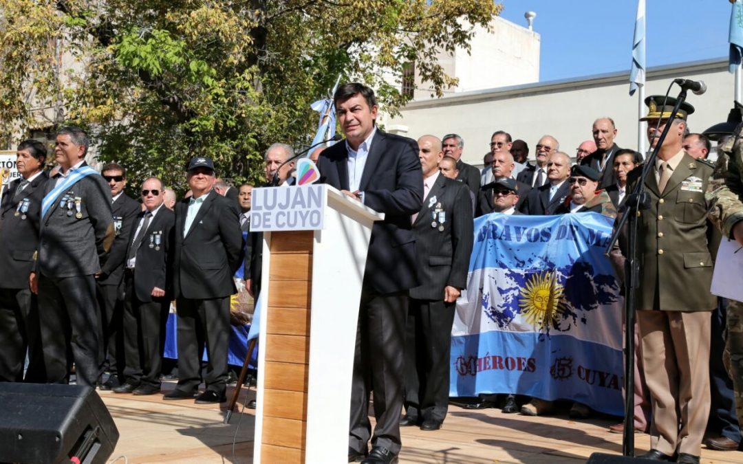 Luján de Cuyo realizará importantes actos por el Aniversario de Malvinas