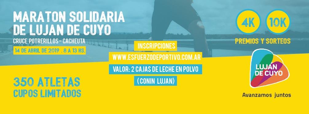 Luján de Cuyo se prepara para su Maratón Solidaria