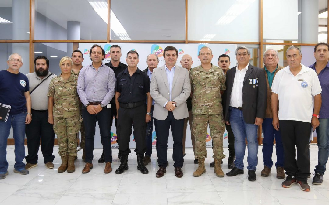 De Marchi se reunió con las instituciones que participarán de los actos por el Aniversario de Malvinas
