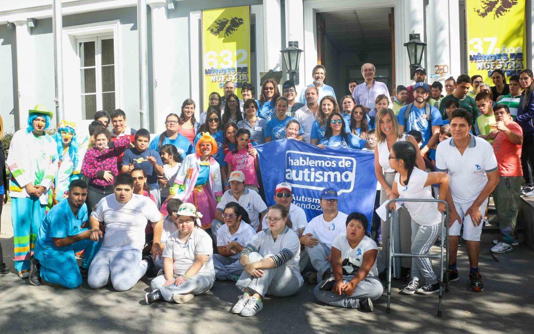 Luján de Cuyo se suma a la concientización sobre el Autismo