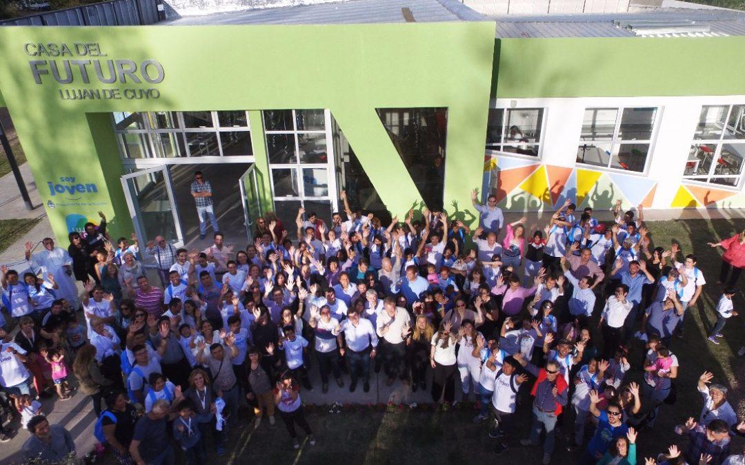 La Casa del Futuro de Luján de Cuyo incorpora nuevas capacitaciones para los jóvenes