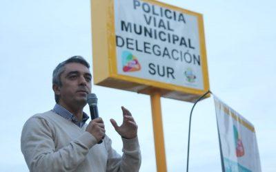 Luján de Cuyo inauguró la Delegación de la Policía Municipal de Agrelo y presentó un Plan de Monitoreo