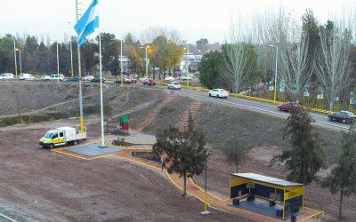 Nueva parada de ómnibus en Luján de Cuyo