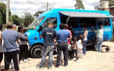 La Unidad de Atención Móvil de ANSES vuelve a Luján de Cuyo
