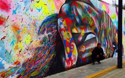 Germán Legrand pintará el mural más grande del mundo