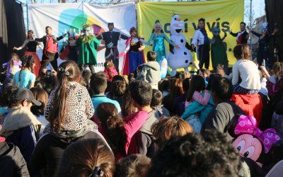 Continúan las funciones del Mes del Niño en Luján de Cuyo