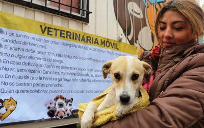 Vuelve la Veterinaria Móvil a Luján de Cuyo