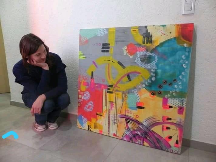 Artista plástica lujanina exhibirá sus obras en Inglaterra