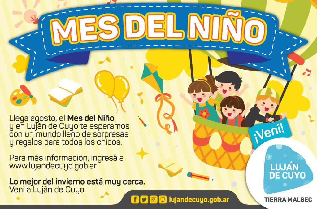 Comienzan las funciones del mes del niño en Luján de Cuyo