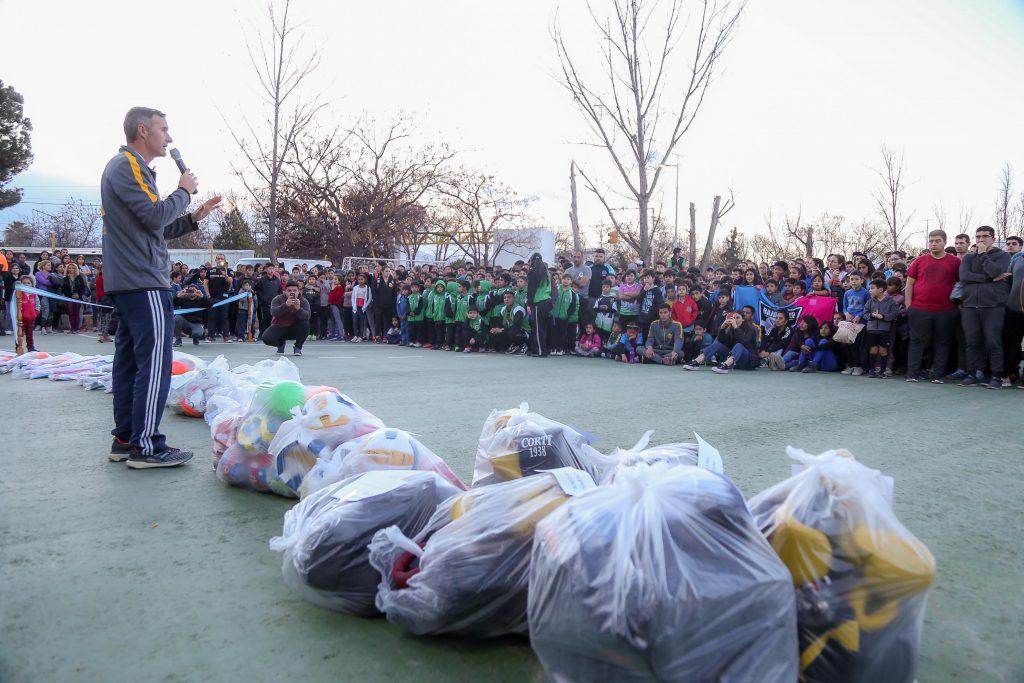 Luján de Cuyo inauguró un importante Playón Deportivo