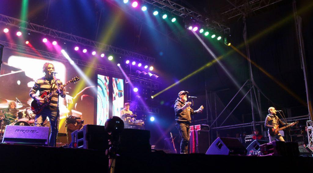 Kapanga brilló en la segunda noche del Vivo Luján