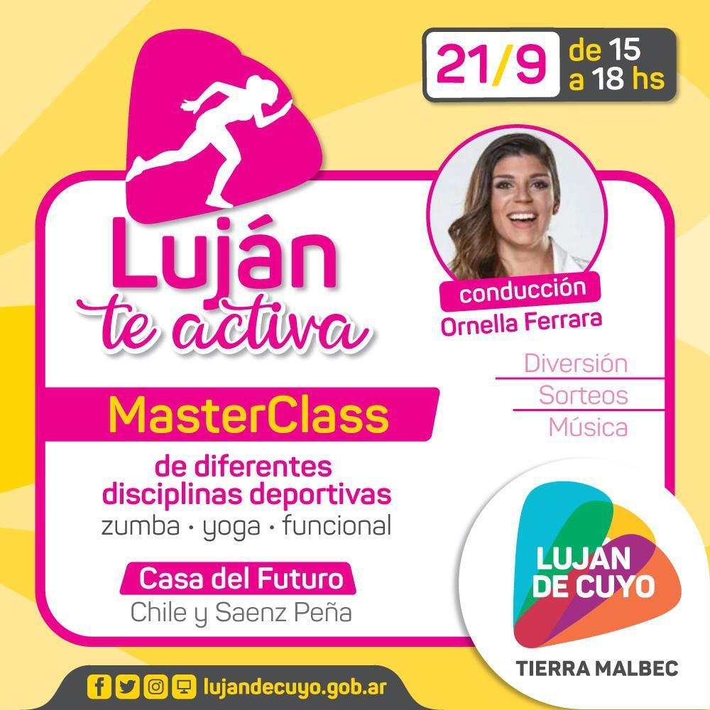 """La Municipalidad inicia el programa """"Luján te activa"""""""