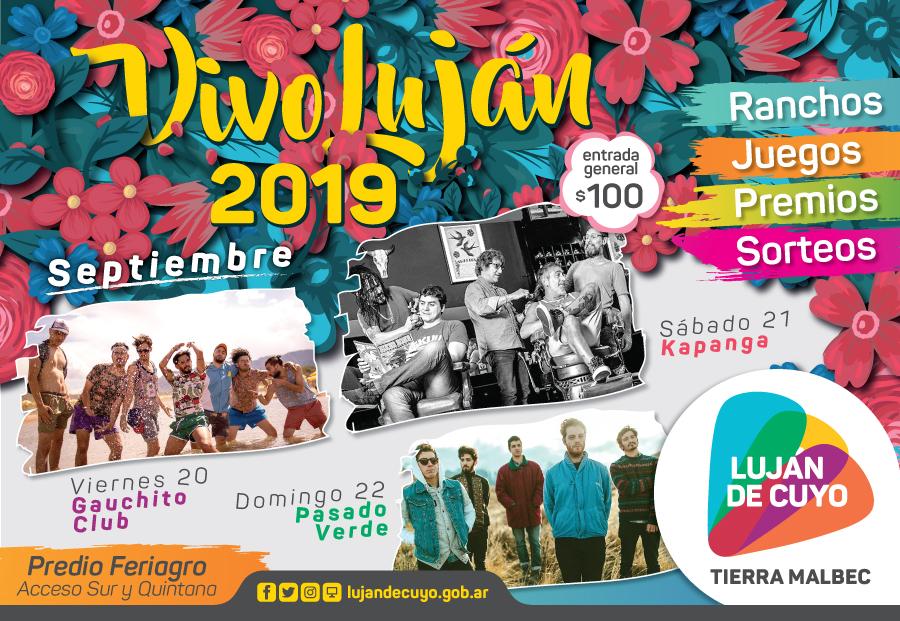 """Comienza el festival """"Vivo Luján 2019"""""""