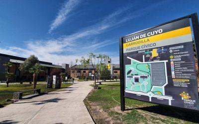 Inauguración del Parque Cívico Luján de Cuyo