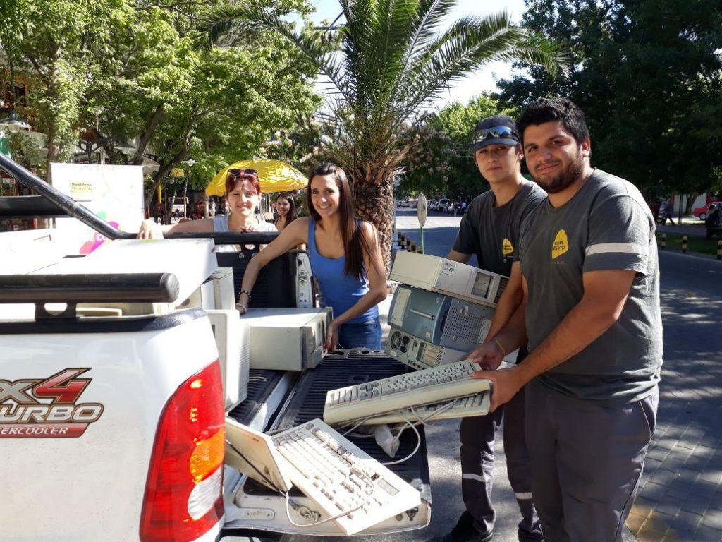 Campaña de Recolección de Residuos Electrónicos en Luján de Cuyo
