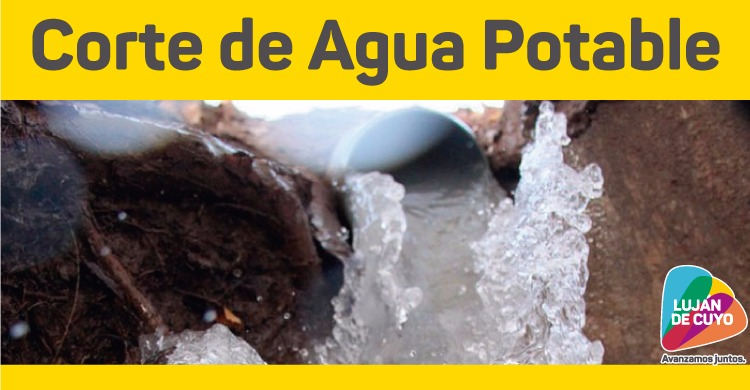 Corte imprevisto de agua potable en Las Compuertas