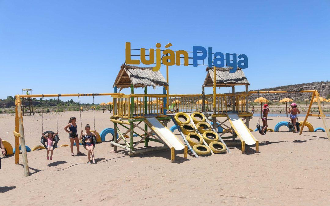 Luján Playa arrancó con su cuarta temporada