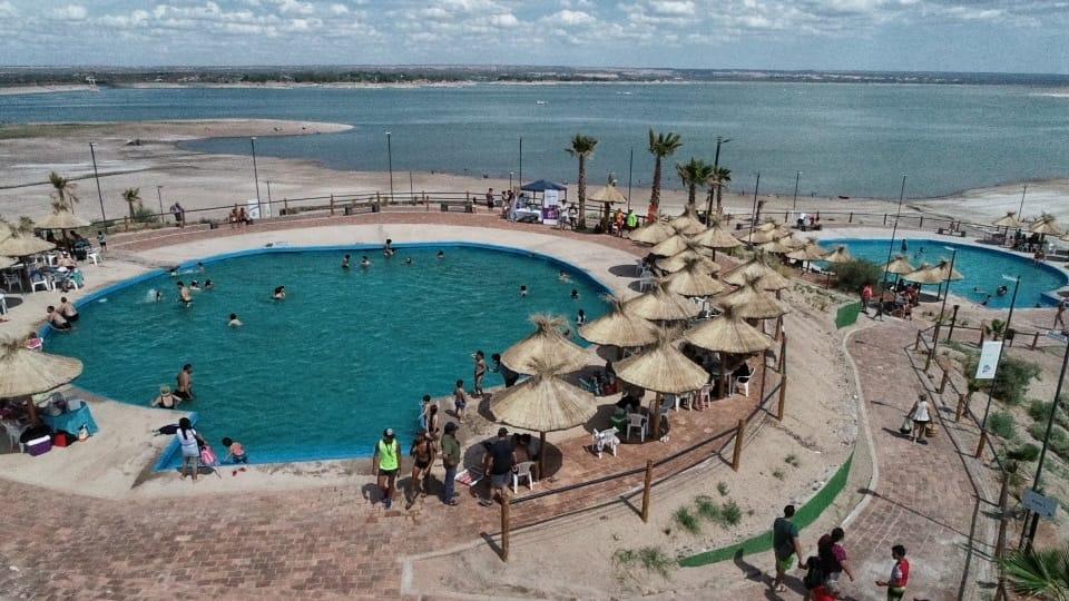 De Marchi presentó la segunda temporada de Luján Playa El Carrizal