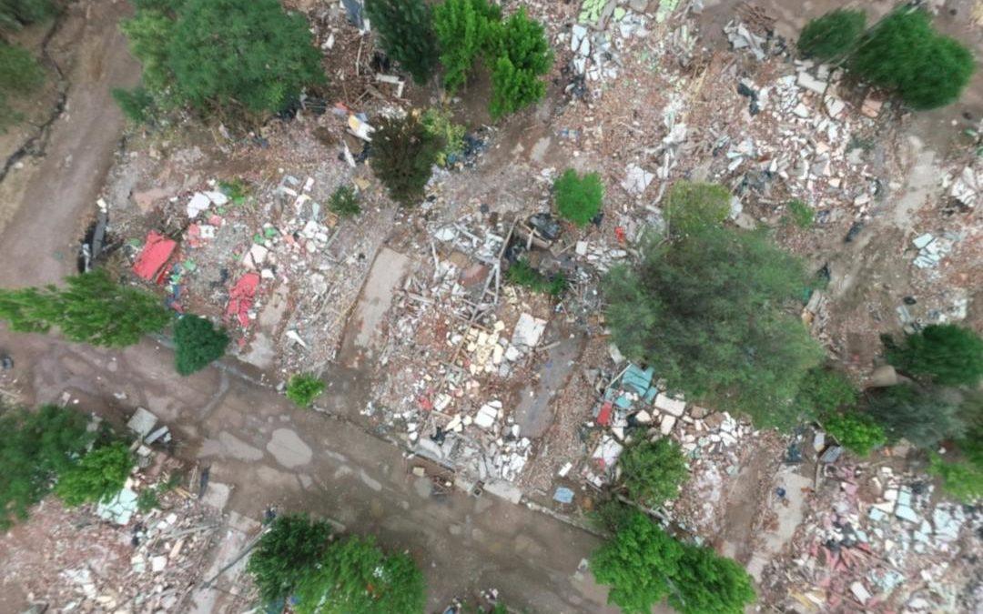 """Sconfienza destacó la relocalización de 700 familias del """"Bajo Luján""""- Extienden vencimiento de tasas"""