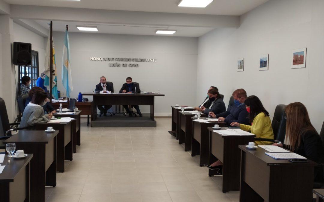 HCD Luján Se aprobó el Sistema de Trabajo de Turno en el Parque Cívico Municipal y la Campaña de difusión Barbijo Rojo