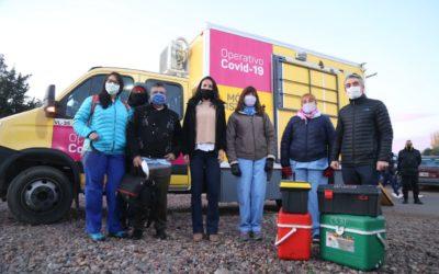 Bragagnolo presentó el operativo Barrios Vulnerables COVID-19