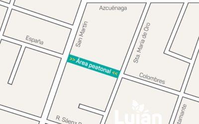 Calle Colombres de Luján de Cuyo se transformará en peatonal