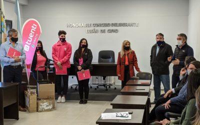 El HCD entregó 1500 chips en el marco del Programa Padrinazgo Escolar a la Supervisión Escolar 17