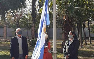 El HCD de Luján de Cuyo realizó el Izamiento de la Bandera en el Parque Cívico Municipal