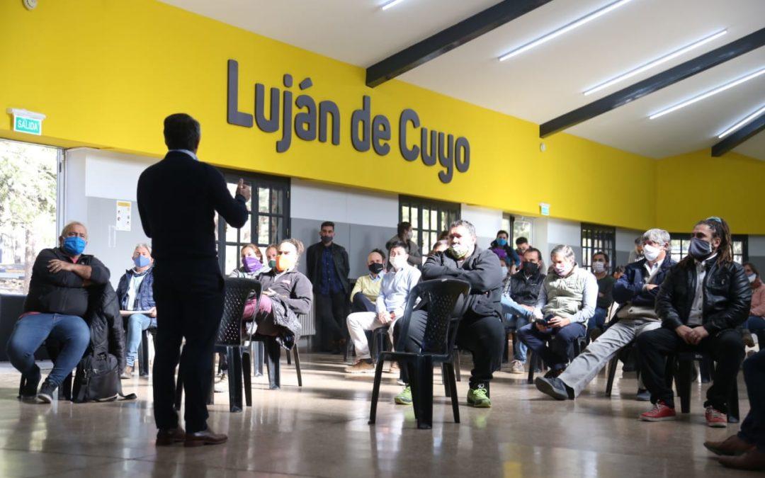 Bragagnolo se reunió con representantes turísticos del departamento
