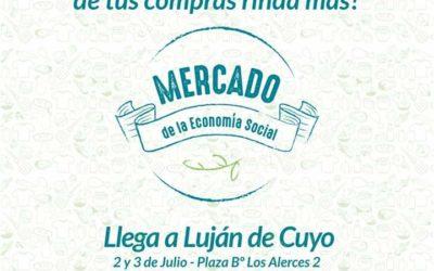 Luján de Cuyo recibe el Mercado de la Economía Social