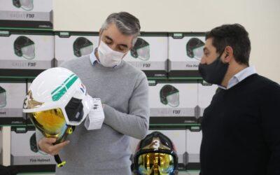 Bragagnolo participó del 52° Aniversario de los Bomberos Voluntarios