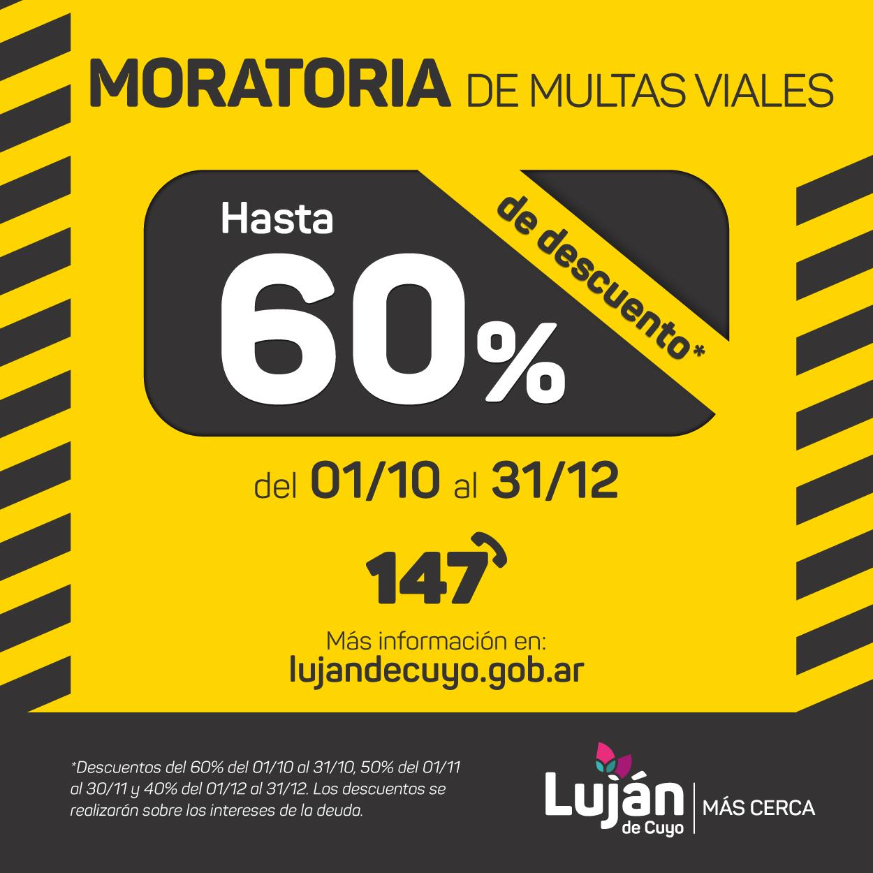 Moratoria Multas Viales