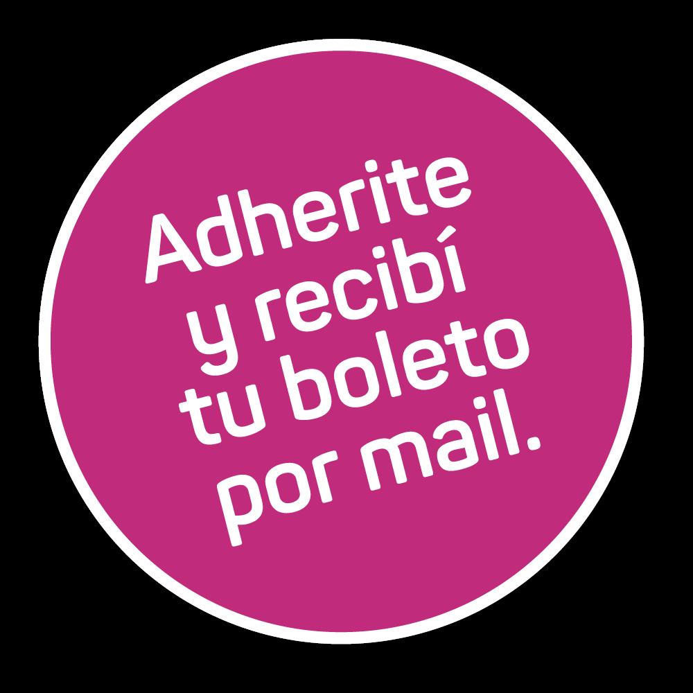 Adherite y recibí tu boletp por mail.