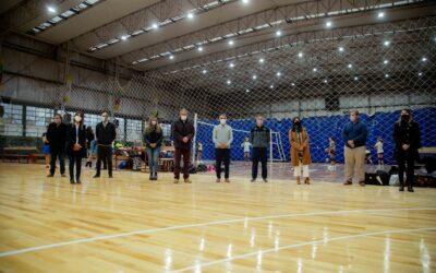 Luján de Cuyo inauguró la cancha de básquet del Polideportivo Central
