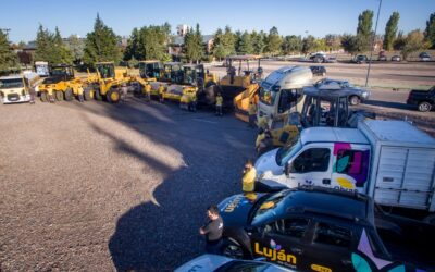 Luján de Cuyo y el equipamiento de asfalto más importante de la Provincia