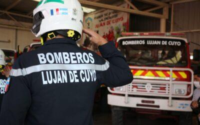 Conmemoración del  Día del Bombero Voluntario en Luján de Cuyo