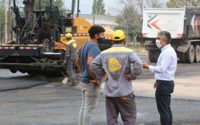 Luján de Cuyo comenzó con la refacción de calle Boedo