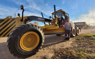 Luján de Cuyo continúa a la vanguardia en equipamiento para obras viales