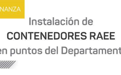 Nuevos Contenedores RAEE en Puntos Verdes de Luján de Cuyo