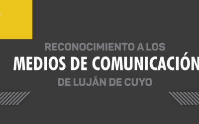 Reconocimiento a los Medios de Comunicación de Luján de Cuyo
