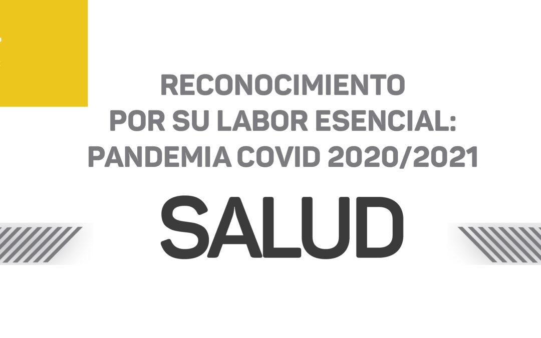 El HCD reconoció al personal de Salud de Luján de Cuyo
