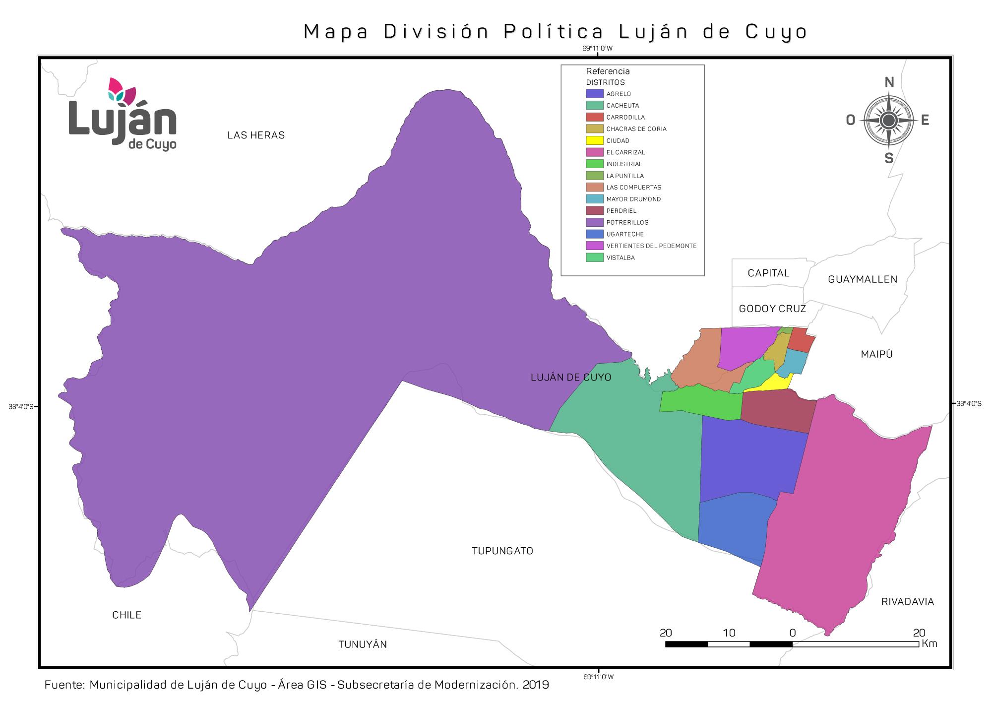 Mapa Politico